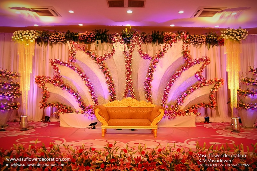 Stage decoration for wedding