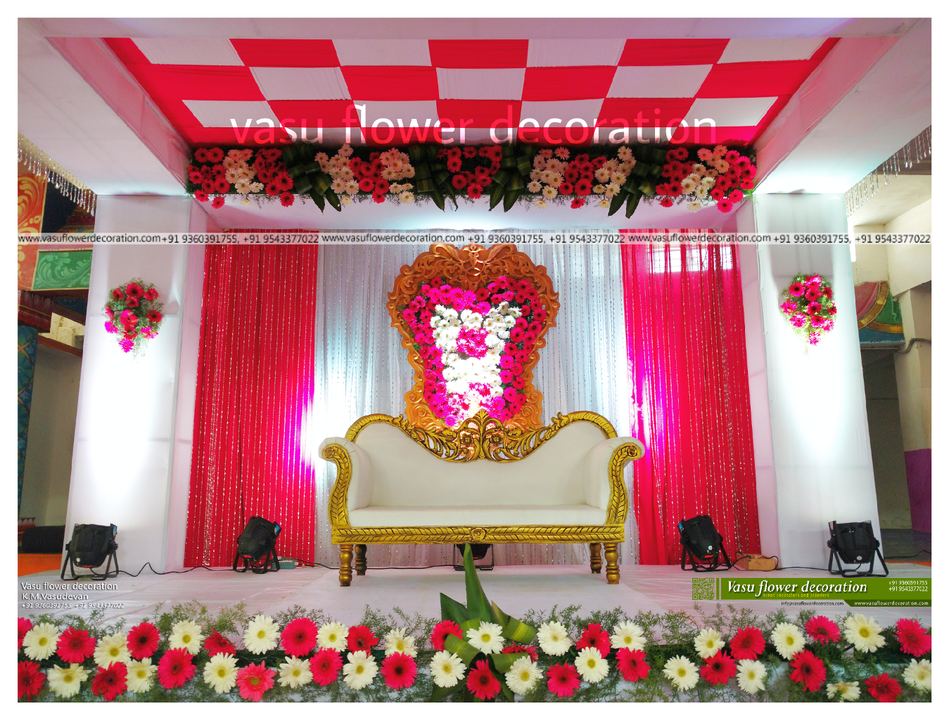 Vasu flower decoration for Decoration decoration