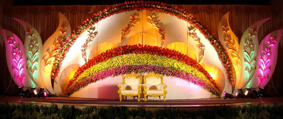 Stage decorations in palanipandalmanavaraimandapamflowerevent temp thecheapjerseys Gallery